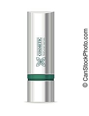 Lipstick Vector Illustration in Flat Design