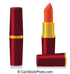 lipstick vector illustration