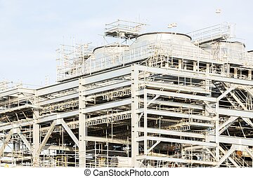 liquefied natural gas Refinery Factory - Assembling of...