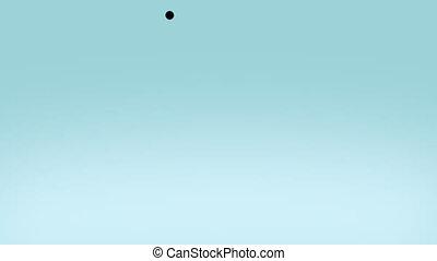 liquid blue ball with alpha