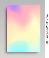 Liquid colored gradient backdrop