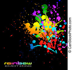 LIquid Colorful Abstract Background for Business Flyers