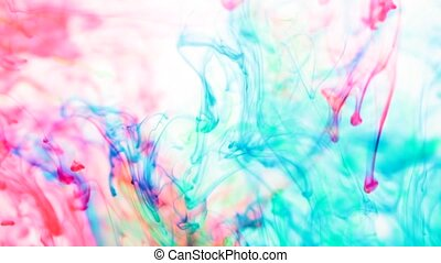 Liquid colors in water
