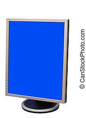 Liquid crystal display - Photo of a flat screen display...