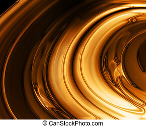 liquid gold background - elegant background