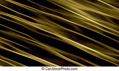 Liquid Gold Waves - Diagonal golden stream. Liquid gold...