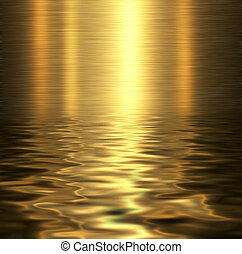 Liquid metal texture, metallic background.