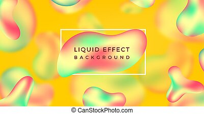 liquid Modern abstract background template