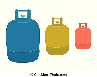 Liquid propane tank logo - Liquid Propane Gas icon...