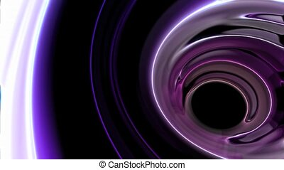 Liquid Tunnel HD Loop - Loopable animated background of an...