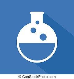liquide chimique, icône