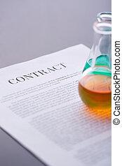 liquides, contrat