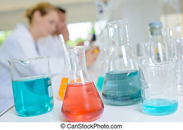 liquids in colors