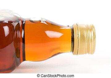 liquore, duro, bottiglia