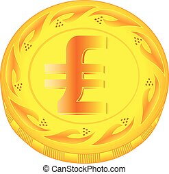 Lira coin - gold lira, metal lira, small change, pocket...