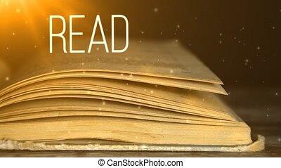 lire, les, book., beaucoup, lire, books., education., 5
