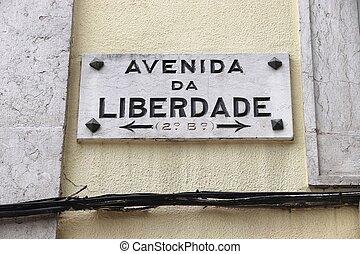 lisboa, calle