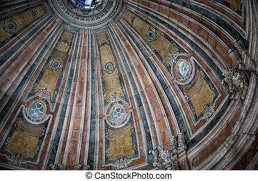lisboa, estrela, basílica, cupula, portugal