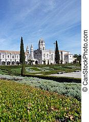 lisboa, jeronimos, portug, monasterio