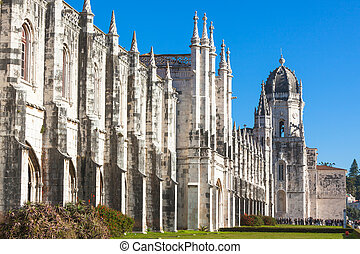 lisboa, jeronimos, portugal, monestary