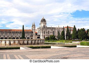 lisboa, monasterio, hieronymites, portugal