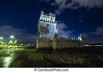 lisboa, torre de belem, portugal