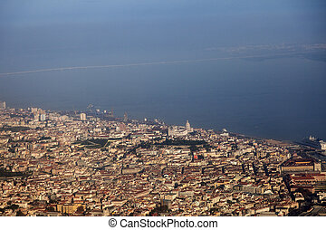 Lisbon - aerial view of the city
