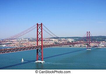 Lisbon bridge 01