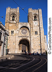 Lisbon Cathedral in Portugal