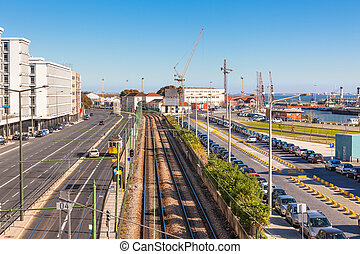 Lisbon Industrial Port District - Lisbon Industrial District...