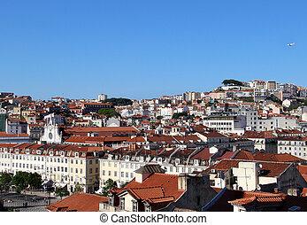 Lisbon panorama, Portugal