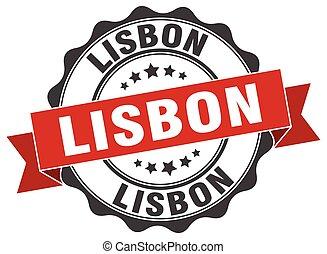 Lisbon round ribbon seal