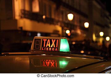 Lisbon Taxi
