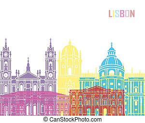 Lisbon V2 skyline pop
