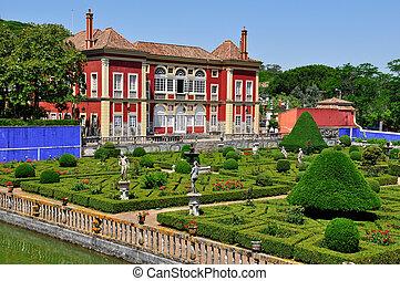 lisbona, fronteira, portogallo, palazzo
