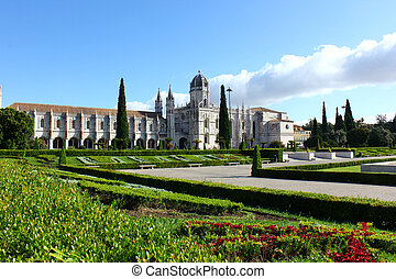 lisbona, jeronimos, monastero, portogallo