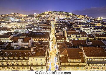 lisbonne, château, portugal