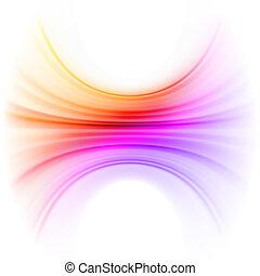 liscio, tecnologia, luce, linee, fondo., eps, 8