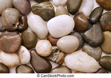 liso, 2, pedras praia