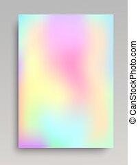 liso, e, coloridos, gradiente