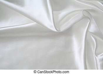 liso, elegante, blanco, seda, como, boda, plano de fondo