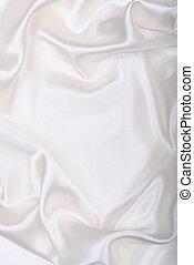liso, elegante, branca, seda, como, casório, fundo