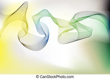 liso, ondulado, linhas, onda, backround, para, apresentação,...