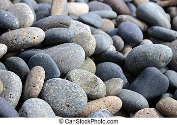 liso, pedras