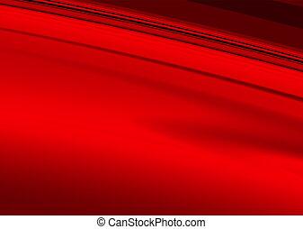 liso, rojo