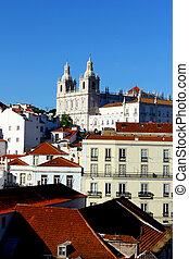 lissabon, alfama, portugal