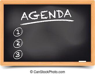 List Agenda