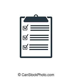 list - check list icon