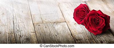 list miłosny, -, karta, światło słoneczne