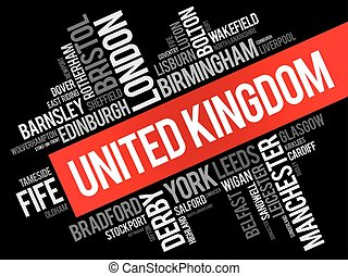 List of cities and towns in the United Kingdom